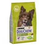 Dog Chow корм для взрослых собак с ягненком 2,5 кг