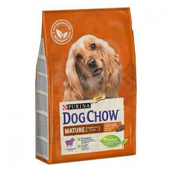 Dog Chow корм для пожилых собак старше 5-ти лет с ягненком  14 кг