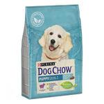 Dog Chow корм для для щенков с ягненком 2,5 кг
