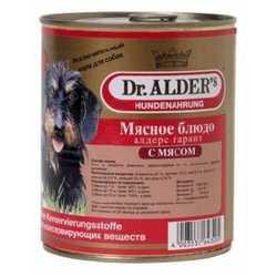 Dr.Alders Garant консервы для собак с говядиной (0,75 кг) 12 шт