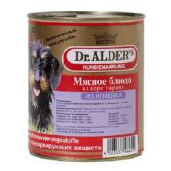 Dr.Alders Garant консервы для собак с ягненком (0,75 кг) 12 шт