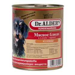 Dr.Alders Garant консервы для собак с птицей (0,75 кг) 12 шт