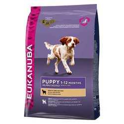 Eukanuba Puppy Lamb корм для щенков с ягненком 12 кг