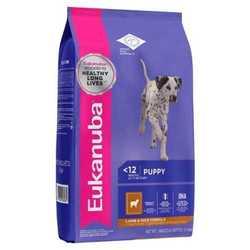 Eukanuba Puppy Lamb корм для щенков с ягненком 2,5 кг