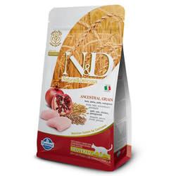Farmina N&D Сat Low-Grain корм для кошек Курица с Гранатом 5 кг