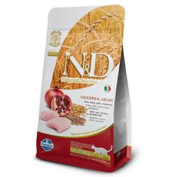 Farmina N&D Сat Low-Grain корм для стерилизованных кошек Курица с Гранатом 1,5 кг