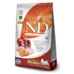 Farmina N&D Pumpkin Chicken Mini беззерновой корм для собак мелких пород с курицей и тыквой 7 кг
