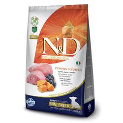 Farmina N&D Pumpkin Lamb Puppy Mini беззерновой корм для щенков мелких пород с ягненком и тыквой 7 кг