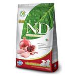 Farmina N&D Mini & Medium Puppy беззерновой корм для щенков мелких и средних пород курица с гранатом 2,5 кг