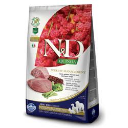Farmina N&D Quinoa Weight Management Lamb беззерновой корм для собак контроль веса с ягненком и киноа 7 кг