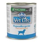 Farmina Vet Life Hypoallergenic Canine Fish & Potato корм для собак при аллергии с рыбой (0,3 кг) 6 шт