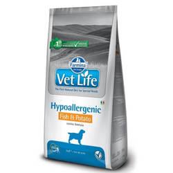 Farmina Vet Life Hypoallergenic Fish & Potato корм для собак при пищевой аллергии рыба с картофелем 12 кг