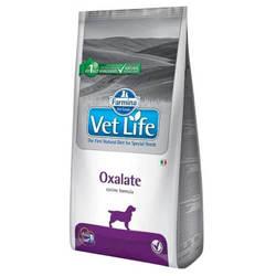 Farmina Vet Life Oxalate корм для собак при лечении МКБ 12 кг