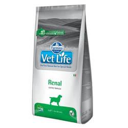 Farmina Vet Life Renal корм для собак при заболеваниях почек 12 кг