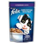 Felix паучи для кошек с ягненком в желе (0,085 кг) 24 шт