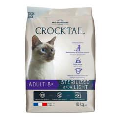 Flatazor Crocktail Adult 8+ Sterilized корм для пожилых стерилизованных кошек 10 кг