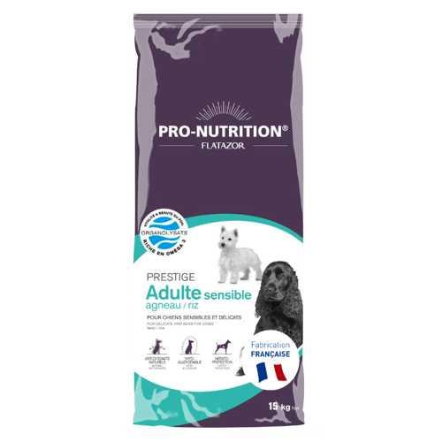 Flatazor Prestige Sensible сухой корм для собак с ягненком 3 кг