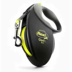 Flexi Giant L Neon для собак до 50 кг - длина ремня 8 м