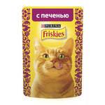 Friskies паучи для кошек печень в соусе (0,085 кг) 24 шт