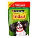 Friskies паучи для собак с говядиной (0,085 кг) 24 шт