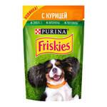 Friskies паучи для собак с курицей (0,085 кг) 24 шт