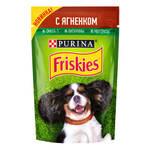 Friskies паучи для собак с ягненком (0,085 кг) 24 шт