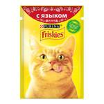 Friskies паучи для кошек язык в соусе (0,085 кг) 24 шт