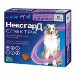 Frontline NexGard Spectra таблетки жевательные для собак 15-30 кг