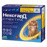 Frontline NexGard Spectra таблетки жевательные для собак 3,5-7,5 кг