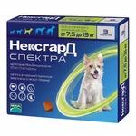 Frontline NexGard Spectra таблетки жевательные для собак 7,5-15 кг
