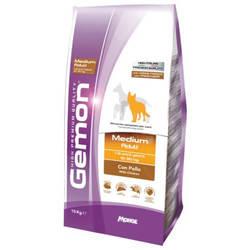 Gemon Medium Adult корм для собак с курицей 15 кг