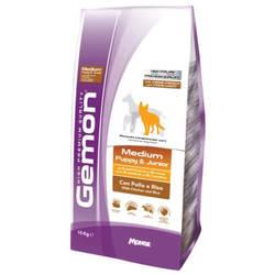 Gemon Medium Puppy & Junior корм для щенков средних пород 15 кг