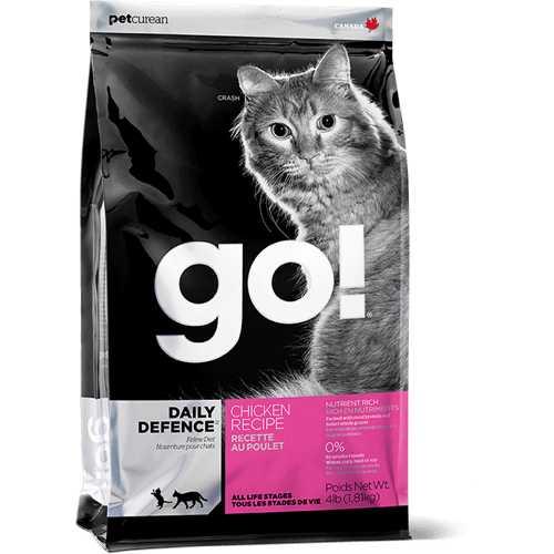 Go! Natural сухой корм для кошек и котят с курицей 3,63 кг