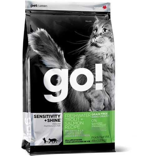 Go! Natural сухой корм для кошек и котят с рыбой 7,26 кг