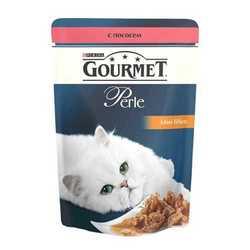 Gourmet Perle Salmon | Паучи Гурме Перл с мини филе лосося (24 шт x 85 гр)