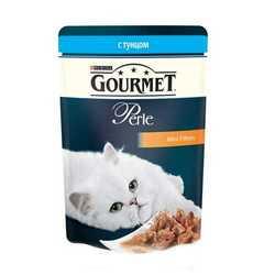 Gourmet Perle Tuna | Паучи Гурме Перл с мини филе тунца (24 шт x 85 гр)