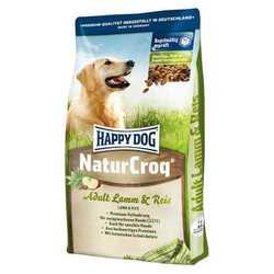 Хэппи Дог НатурКрок сухой корм для взрослых собак с ягненком и рисом 15 кг