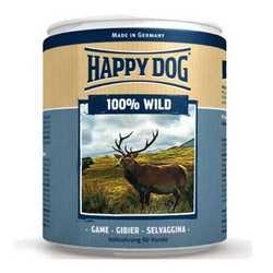 Хэппи Дог консервы для собак с дичью (0,4 кг) 6 шт