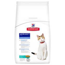 Hills Science Plan Feline Mature Adult 7+ корм для пожилых кошек с тунцом 2 кг