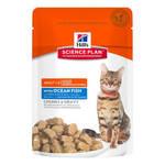 Hills Science Plan Adult Fish паучи для кошек c рыбой (0,085 гр) 12 шт