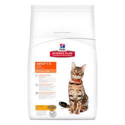 Hills Science Plan Adult Optimal Care Chicken корм для кошек с курицей 15 кг