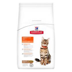 Hills Science Plan Adult Optimal Care Lamb корм для кошек с ягненком 5 кг