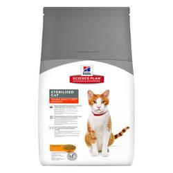Hills Science Plan Adult Sterilised корм для стерилизованных кошек 1,5 кг