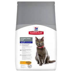 Hills Science Plan Mature Adult 7+ Sterilised корм для пожилых стерилизованных кошек 3 кг