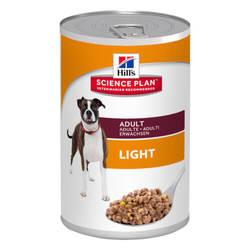 Hills Science Plan Adult Light консервы низкокалорийные для собак (0,37 гр) 1 шт