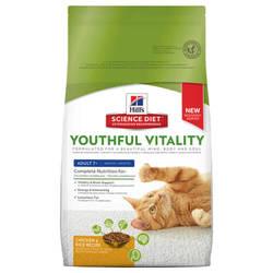 Hills Science Diet Adult 7+ Youthful Vitality корм для пожилых кошек 1,5 кг