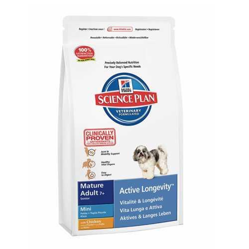 Hills Canine Mature Mini | Сухой корм Хиллc для пожилых мелких собак 3 кг
