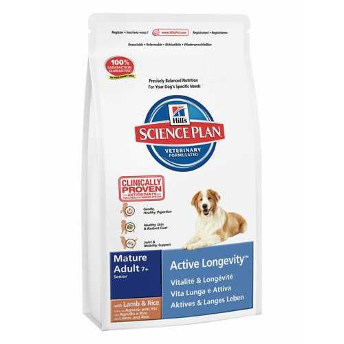 Hills Canine Mature Lamb & Rice | Сухой корм Хиллc для пожилых собак с ягненком и рисом 3 кг