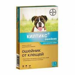 Kiltix ошейник для средних собак 48 см
