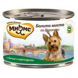 Мнямс консервы для собак дичь с картофелем (0,20 кг) 6 шт
